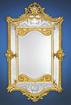 French mirror from the Napoleonic era