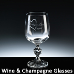 Wine & Champagne glases